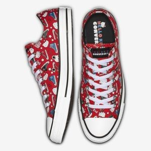NWT Limited Edition Hello Kitty Converse